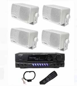 Pyle complete Best Outdoor Speaker System