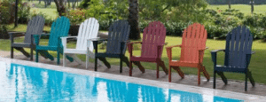 Mainstays Adirondack Outdoor Patio Furniture Chairs in colors