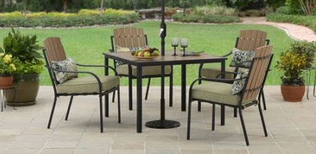 Better Homes and Gardens Jade Avenue 5pc Dining Set