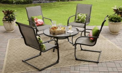 Bristol Springs 5 piece Patio Chat Set