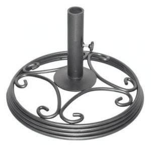 Mainstays Willow Springs metal umbrella base