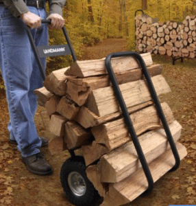 Landmann log rack caddy
