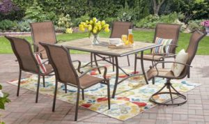 Mainstays Wesley Creek 7 piece dining set
