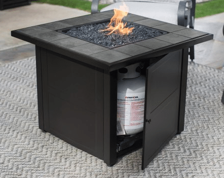 UniFlame LP Outdoor Furniture a Fire Pit Table