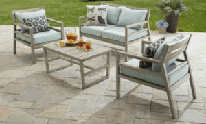 Patio Furniture Conversation Sets-Better Homes and Gardens Cane Bay conversation set