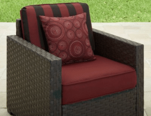 Patio Furniture Conversation Sets-Better Homes and Gardens Rush Valley conversation chair