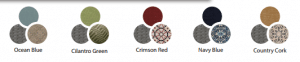 Hanover chelsea cushion color combinations