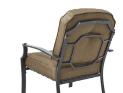 Mainstays Wentworth conversation chair back