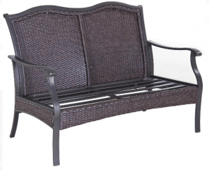 Outdoor Patio Conversation Sets-Better Homes and Gardens Providence love seat