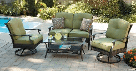 Outdoor Patio Conversation Sets-Better Homes and Gardens Providence Patio Conversation Furniture Sets