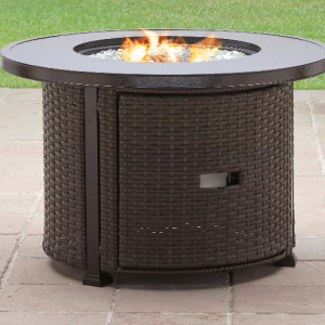 Wicker patio furniture sets-Colebrook Gas Fire Pit