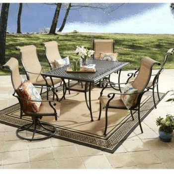 Better Homes And Gardens Southgate Drive Aluminum Patio Dining Set