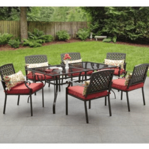Alexadria Crossing 7 pc Patio Dining Set