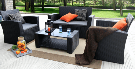 Baner Garden Resin Wicker Patio Furniture Sets