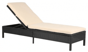 Baner Garden Chaise Lounge Outdoor Patio Furniture Chairs