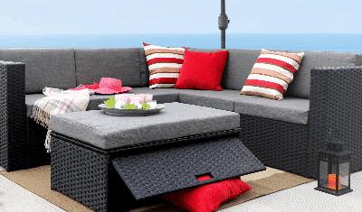 Baner Gardens Resin Wicker Sofa Sets