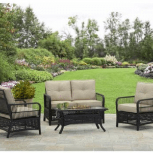Better Homes and Gardens Outdoor Wicker Patio Furniture Sets