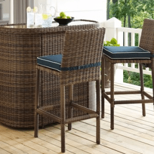 Crosley Bradenton Bistro Bar Height Patio Sets
