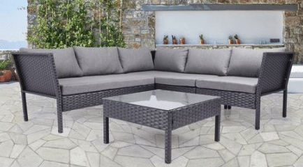 Baner Garden Outdoor Patio Sectional Furniture Sets