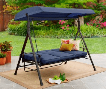 Belden Park blue Garden Furniture Swings Hammocks