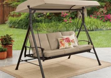 Belden Park 3 person hammock swing