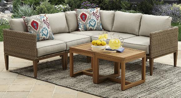 Davenport Resin Weather Resistant Resin Wicker Furniture