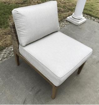 Davenport resin wicker chair