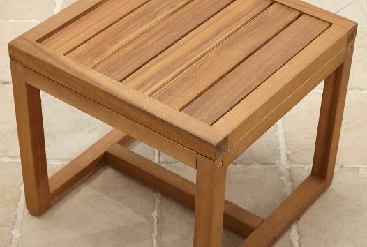Davenport side table