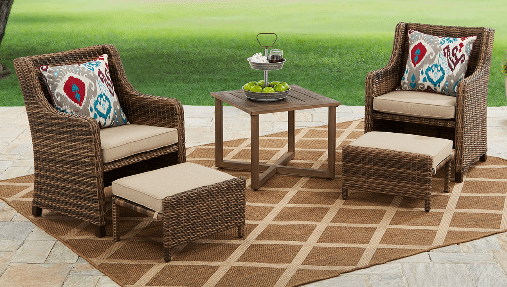 Resin Wicker Patio Sets Hawthorne Park Outdoor Room Ideas