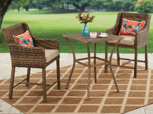 Hawthorne Park Bar Height Bistro Sets for Outdoor