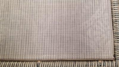 Davenport Sling fabric seat cushion support