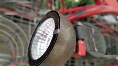 Solar Light for garden bike