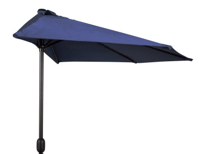 9 foot half outdoor umbrellas