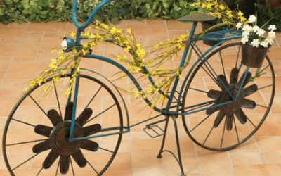 Wrought Iron Bicycle Planter for your Garden