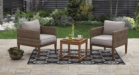 Davenport 3 piece Patio Chat Set