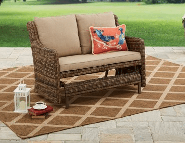 Resin Wicker Outdoor Furniture-Hawthorne Park Motion Glider
