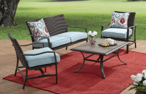 Piper Ridge Patio Furniture with Love Seat
