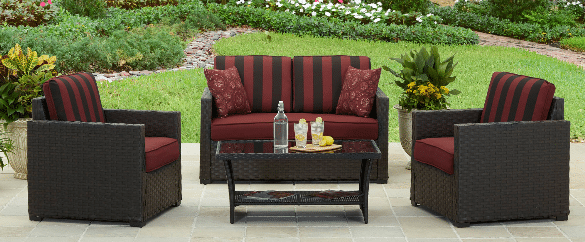 Rush Valley Resin Wicker Outdoor Conversation Sets