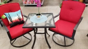 Outdoor Bistro Table and Chairs-Mainstays Belden Park Patio bistro set