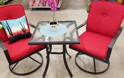 Mainstays Belden Park Patio Bistro Set