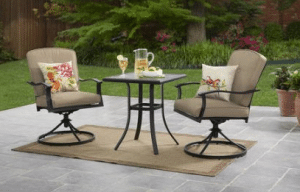 Belden Park Patio Bistro Set
