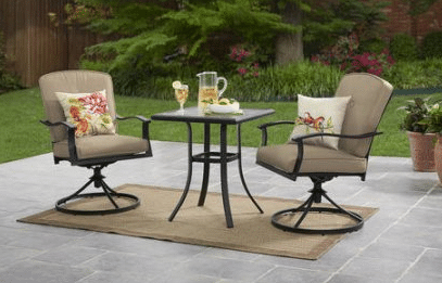 Belden Park Patio 3 pc Patio Bistro Sets