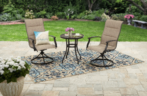 Highland Knolls patio bistro set