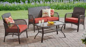 Mainstays Cambridge Park patio conversation set