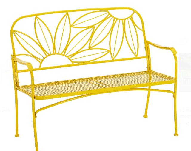 Mainstays Hello Sunny bench