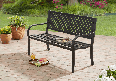 Mainstays Steel bench