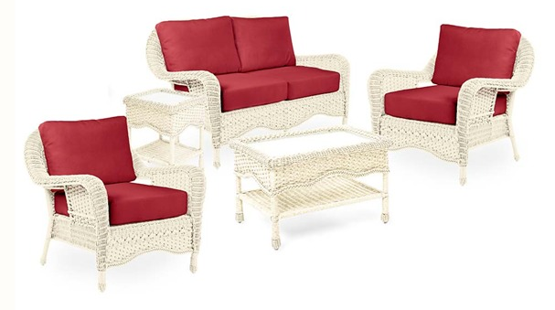 Prospect Hill love seat set