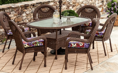 Prospect Hill Resin Wicker Patio Furniture Collection