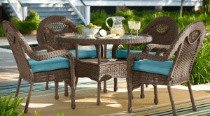 Prospect Hill round dining table set