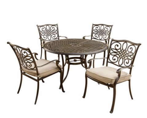 Hanover Traditions Dining Set With Regular Chairs